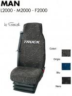 Coprisedile in Tessuto Super Resistente per Camion MAN L2000 M2000 F2000