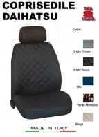 Coprisedili Anteriore in Cotone per Sedile Auto DAIHATSU con AIRbag mod. TEAM 2Pz.