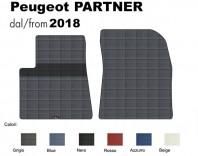 Tappeto Furgone su Misura Peugeot Partner dal 2018 in poi