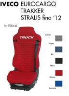 Coprisedile Singolo in Cotone Trapuntato per Camion  IVECO EUROCARGO TRAKKER STRALIS fino al 2012