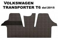 Tappeto Furgone su Misura VolksWagen TRANSPORTER T6 dal 2015 in poi