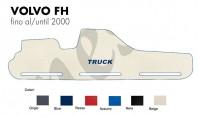 Copricruscotto Copertura Cruscotto su misura per Camion VOLVO FH fino al 2000