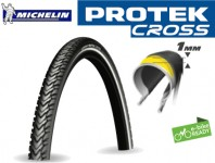 Copertone Bici e-Bike Michelin PROTEK CROSS Antiforatura 1 mm 2 Pz.