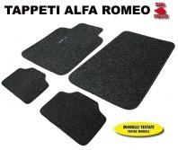 Tappeti in Moquette 4 Pz. EXCLUSIVE per Auto Alfa Romeo