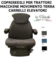 Coprisedile Trattore Macchine Movimento e Carrelli Elevatori per Sedile GRAMMER MAXIMO e COMPACTO