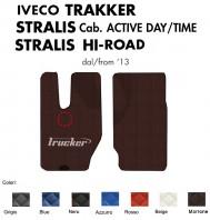 Tappeti su Misura Trucker in Ecopelle per Camion IVECO TRAKKER STRALIS Cabina Active Day/Time e STRALIS HI-ROAD