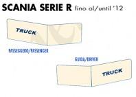 Coprisupporti Sedile Guida e Passeggero per Camion SCANIA Serie R fino al 2012