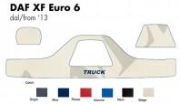 Copricruscotto Copertura Cruscotto su misura per Camion DAF XF Euro 6