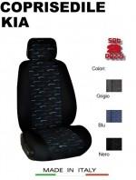 Coprisedili Anteriore in Cotone per Auto KIA con AIRbag mod. PERFORMANCE 2Pz.