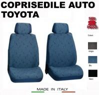 Fodere Coprisedile Anteriori in Cotone per Auto TOYOTA 2Pz.