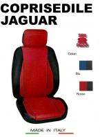 Coprisedili Anteriore Sedile Sportivo in Tessuto Traforato per Auto JAGUAR con AIRbag CHRONO 2Pz.