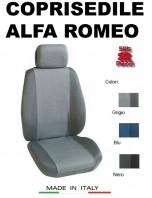 Coprisedili Anteriore Tessuto Traspirante per Auto ALFA ROMEO con AIRbag PREMIUM 2Pz.