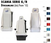Coprisedile Singolo EXTREME Microfibra per Camion SCANIA Serie G o R Streamline dal 2013 in poi