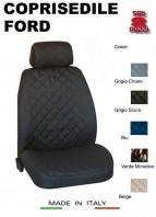 Coprisedili Anteriore in Cotone per Sedile Auto FORD con AIRbag mod. TEAM 2Pz.