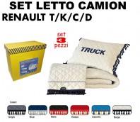 Set da Letto su Misura per Camion RENAULT modello T, K, C, D