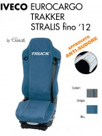 Coprisedile in Microfibra Traspirante AntiSudore AIRTECH per Camion IVECO EUROCARGO TRAKKER STRALIS fino al 2012