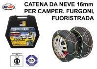 Catene da Neve 16 mm per Camper, Furgoni, Fuoristrada Misura 240