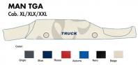 Copricruscotto Copertura Cruscotto su misura per Camion MAN TGA Cabina XL, XLX, XXL