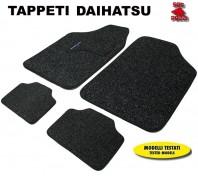 Tappeti in Moquette 4 Pz. EXCLUSIVE per Auto DAIHATSU